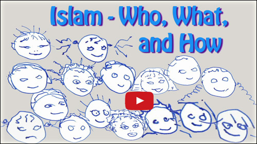 Islam - Who What, How - video for kids